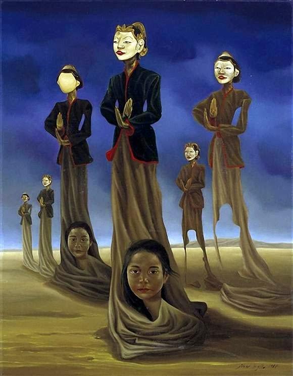 Gambar Lukisan Ivan Sagito Biografi dan karyanya
