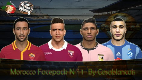 PES 2014 Morocco Facepack N°1 by Casablancais