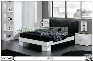 Tempat tidur jog minimalis modern Wolf 160 X 200