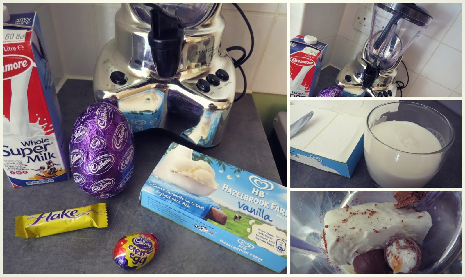 how to make a homemade chocolate milkshake with a blender
