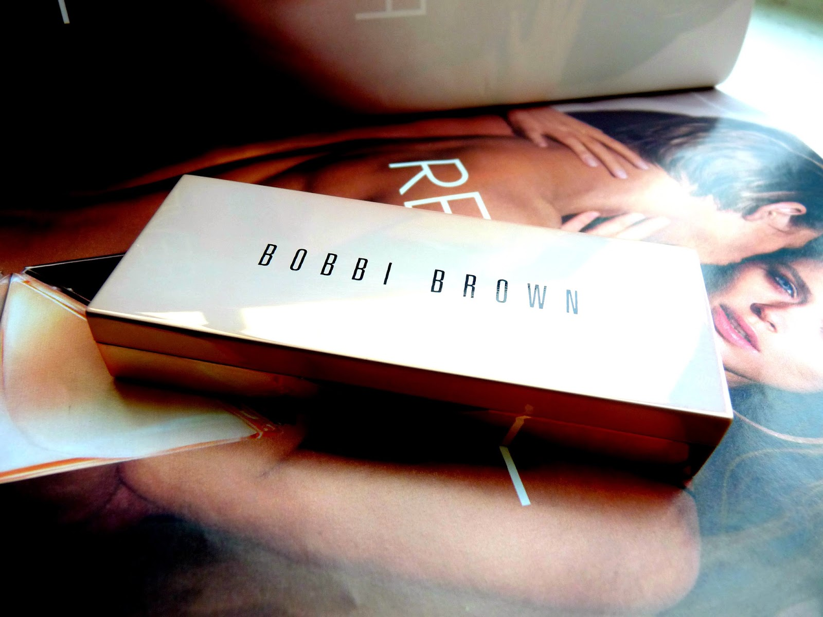 bobbi brown shimmer brick eyeshadow palette pink opal swatches review makeup youwishyou