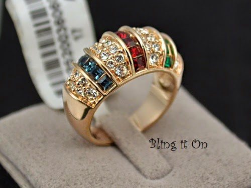 Gold Plated Heavy Ring Jewelry Pakistan SS 10