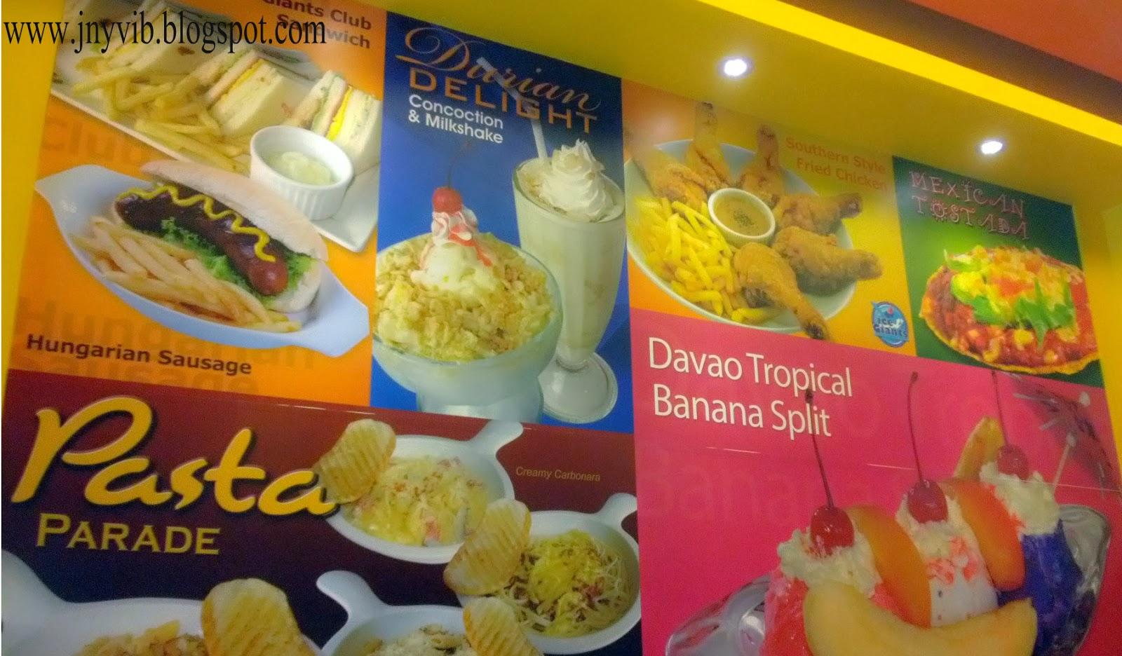ice giants cebu menu - photo #19