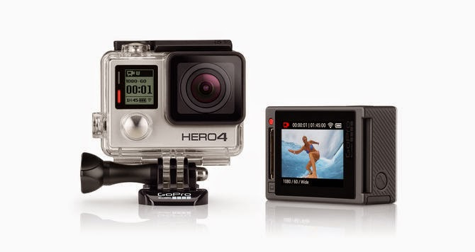 Video: It is now official, GoPro Hero 4 will be available on October 5