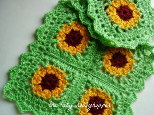 Gloriosa daisy square - placemat and coaster