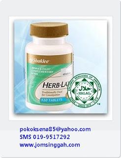 Herblax - Julat Lembut utk cuci usus, singkirkan toksin