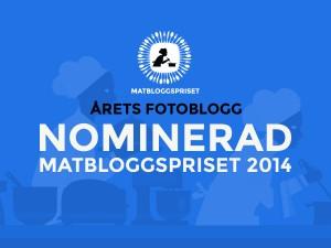 Nominerad matbloggspriset