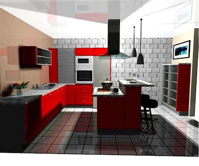 nice kitchen wallpaper