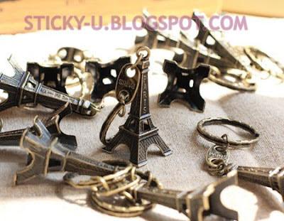 021: Mika's Eiffel Tower Keychain