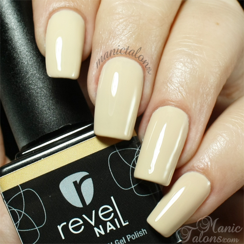 Revel Nail Gel Polish Chaste Swatch