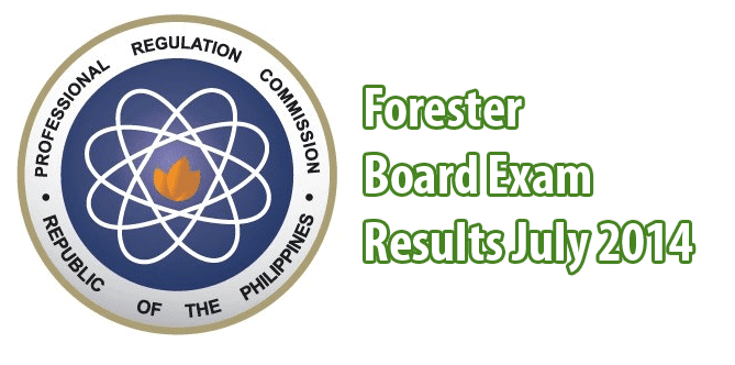 Forester Board Exam Results July 2014