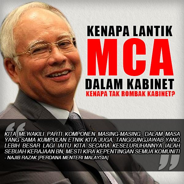 Kenapa Najib Tidak Rombak Barisan Kabinet?!
