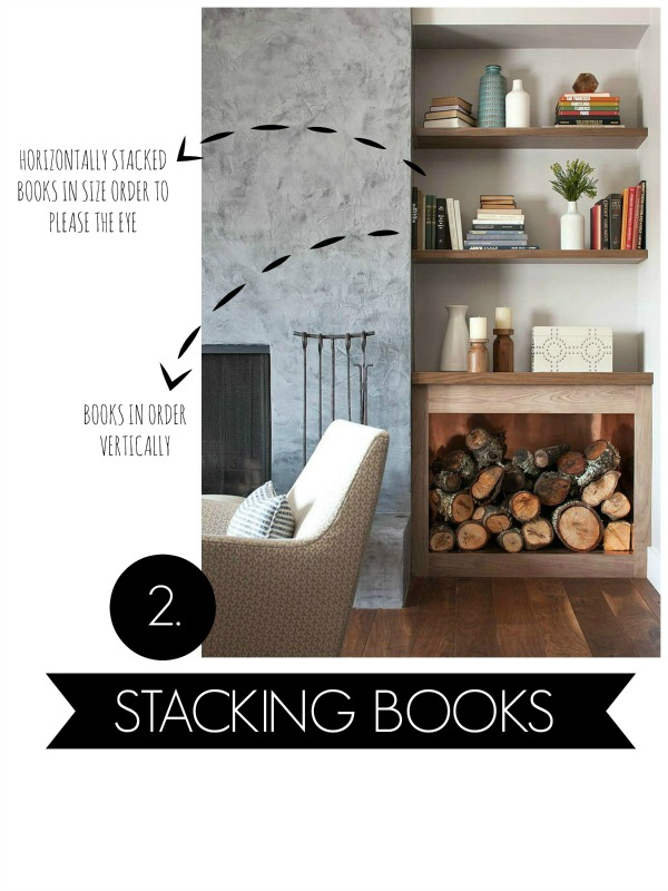 easy tips for styling bookshelves