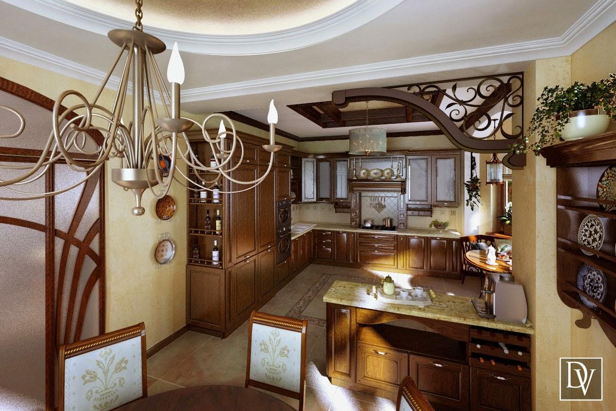 Кухня столовая вид 3 кухня столовая