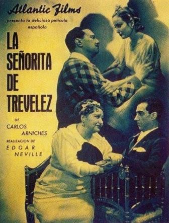 La señorita de Trvélez, de Carlos Arniches