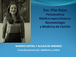 PSICOANALISTA MADRID. Dra. Pilar Rojas