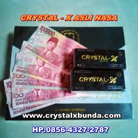Crystal X Asli Nasa dan Cara Membelinya
