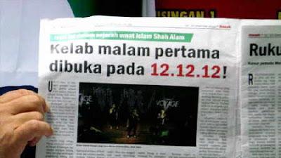 """Pencacai Kantoi: Shah Alam Masih """"Bebas Disko"""", Kafe Bukan Kelab Malam"""