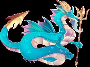 imagen del dragon poseidon adulto