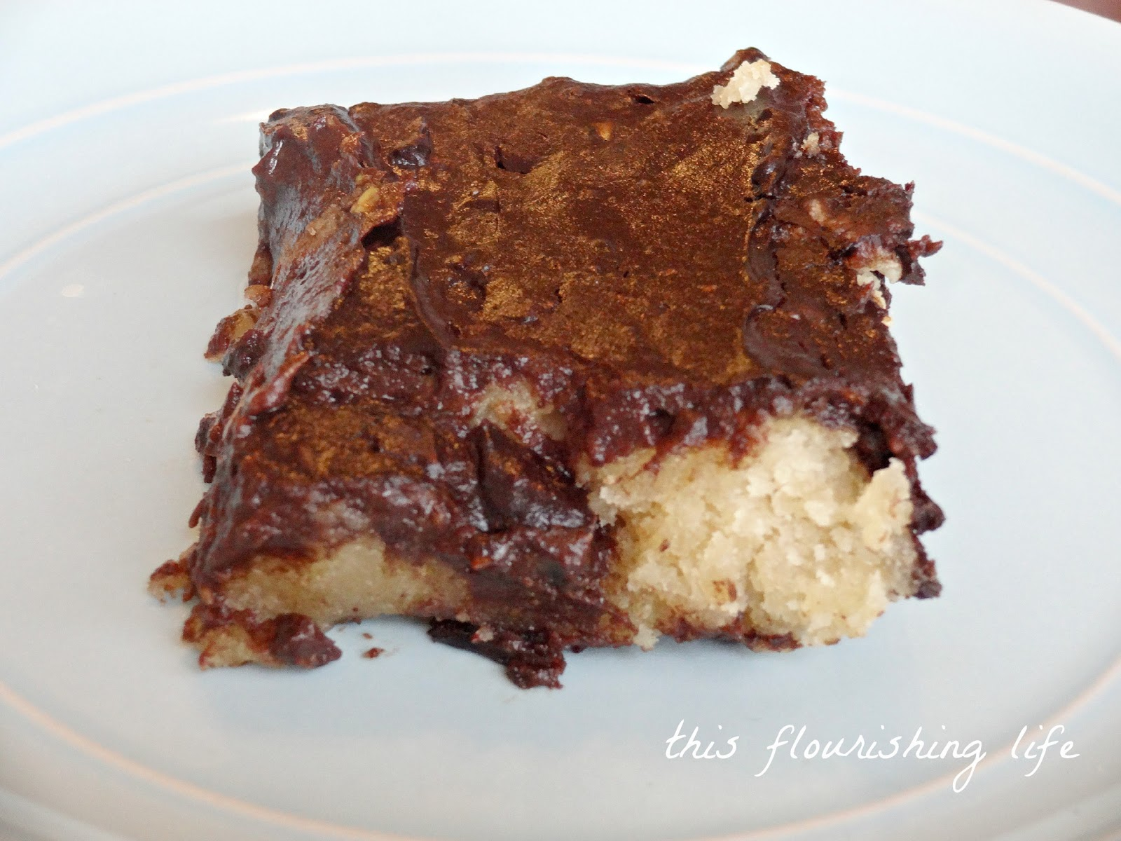 ... Chocolate Pudding recipe and my own Chocolate Chip Cookie Bars recipe