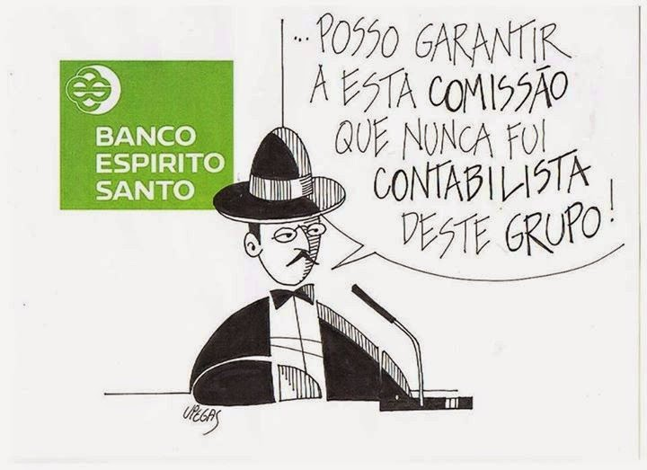 Fernando Pessoa, Contabilista, Banco Espírito Santo
