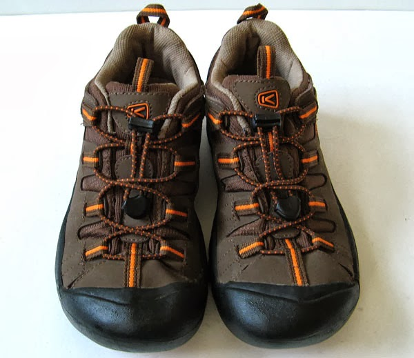 closet keen brown leather hiking shoes womens size 8