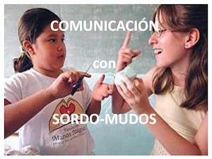 Comunicación entre SORDO-MUDOS