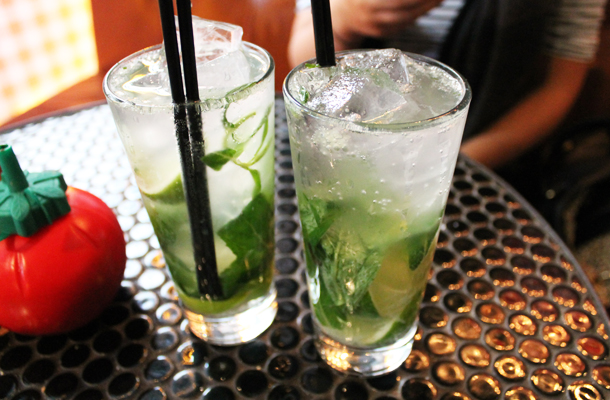 Sweet Monday, Parlour Burger, Mojitos