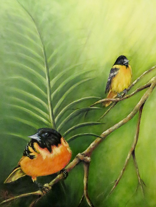 """On the Lookout"" Baltimore Orioles SOLD!"