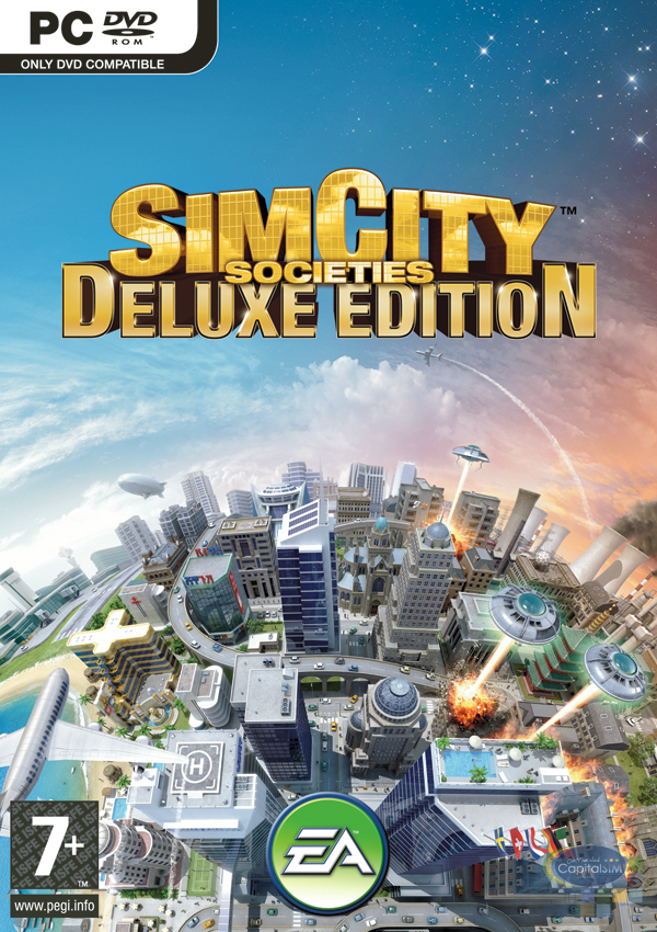 SimCity Full Digital Deluxe Edition