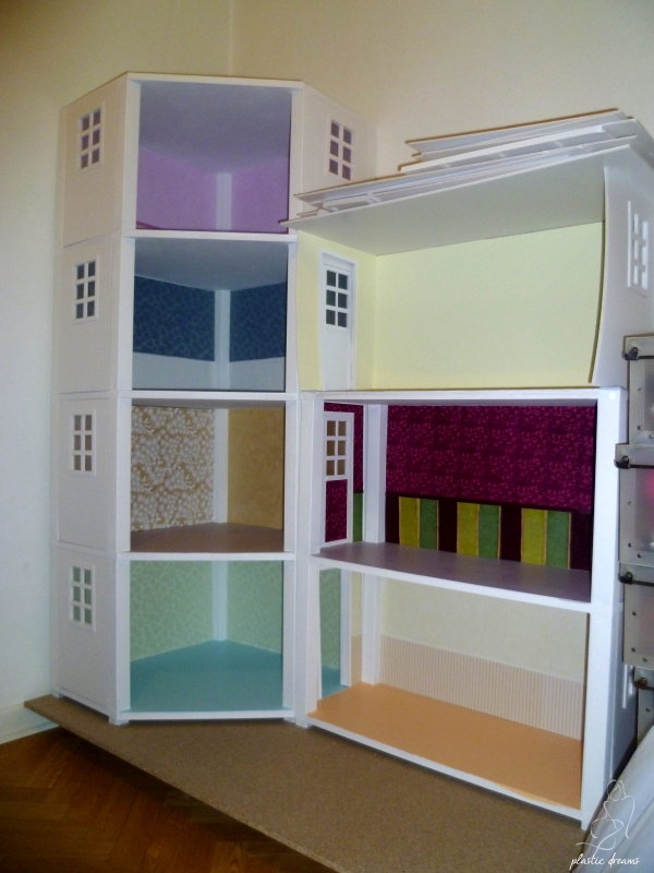 plastic dreams barbie et miniatures ma maison de barbie en suspens. Black Bedroom Furniture Sets. Home Design Ideas