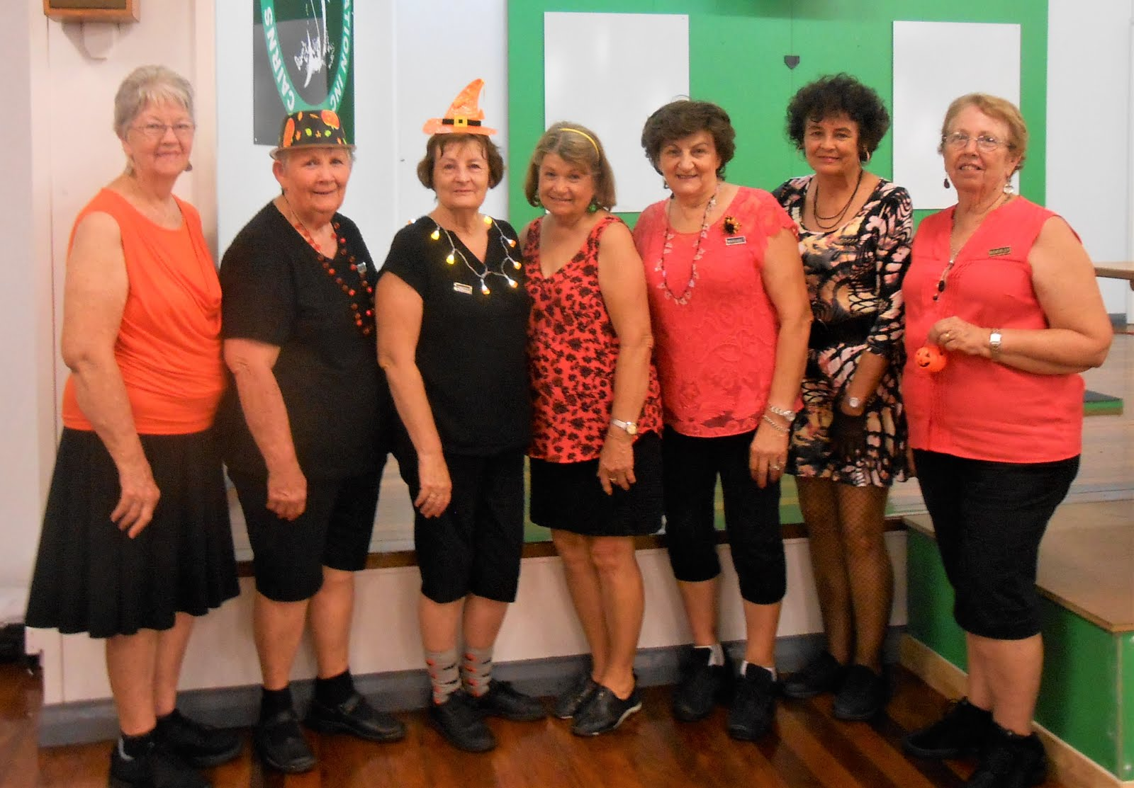 Coasters at Cairns'  Halloween Social