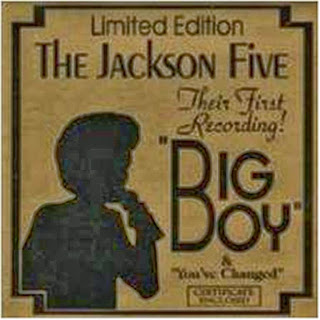 Edição Limitada - The jackson Five - Their First Recording!