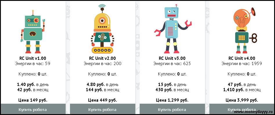 Интернет заработок робот 1