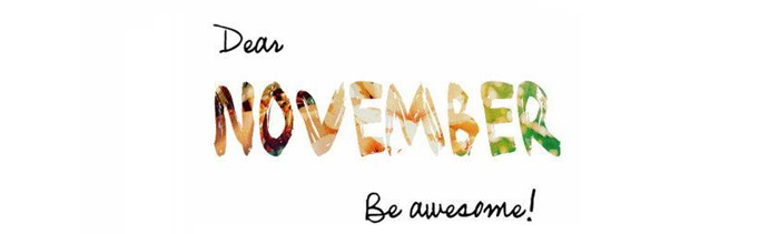 Welcome November 2014