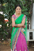 Actress Anjali Rao in Half Saree-thumbnail-15