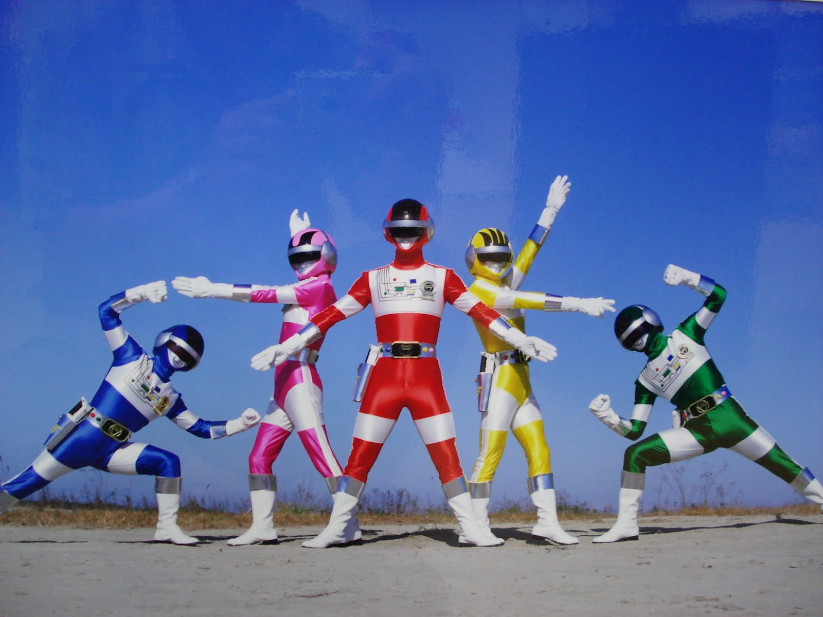 Choudenshi Bioman English Dubbed Super Sentai Show Run in the Philippines Retro Pilipinas Feature