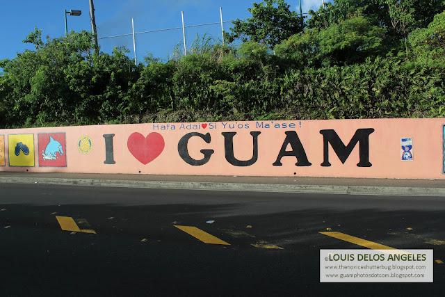 I Love Guam Mural