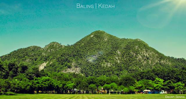 Hiking: Gunung Baling, Kedah