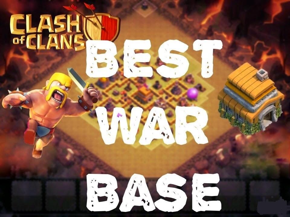 Town Hall 6 di Clan War Clash of Clans