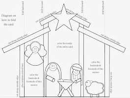 Lds Nativity Coloring Pages Printable