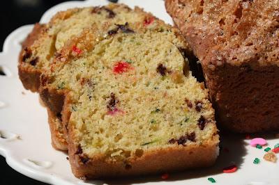 cake batter zucchini bread