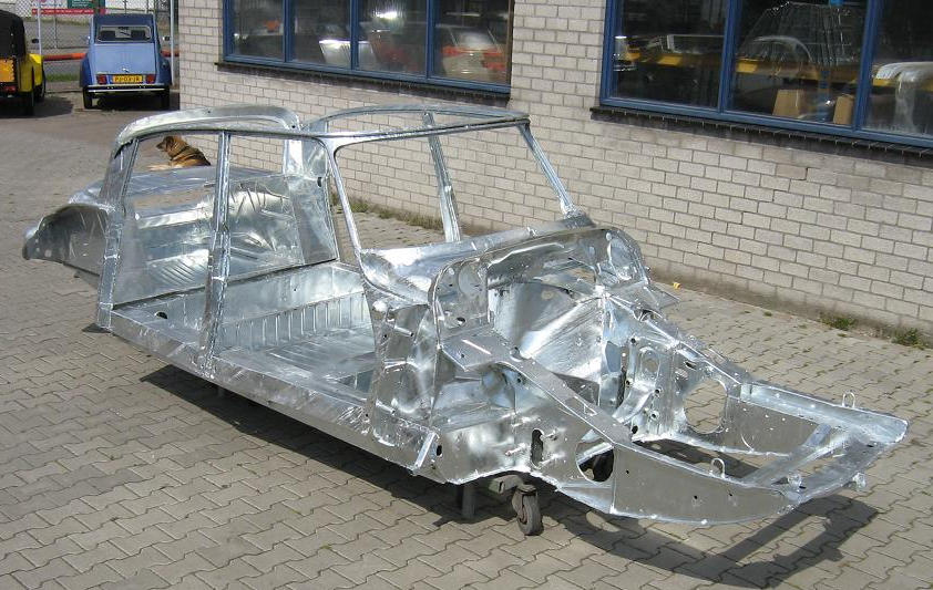 Galvanized Citroen Ds Chassis The Car Hobby