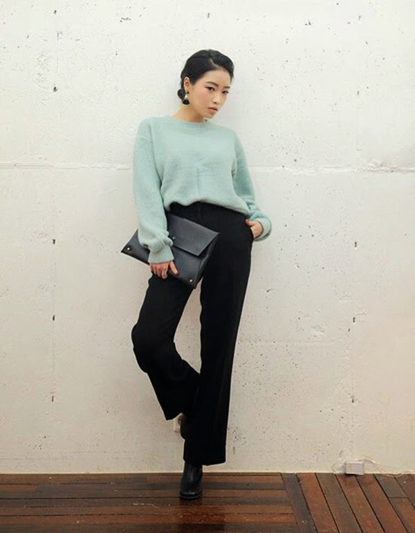 màu áo len gam pastel