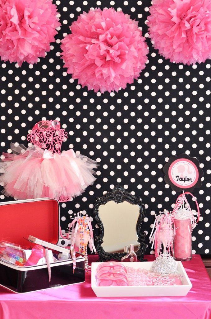 Decoraci n de fiestas infantiles de barbie fiestas y - Decoracion fiestas tematicas ...
