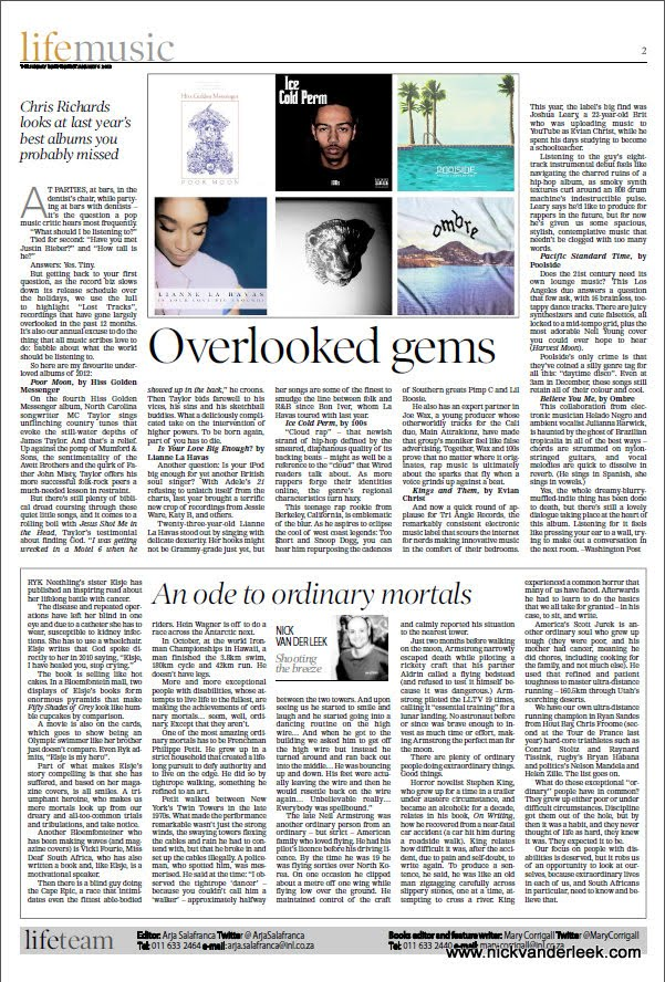 Opinion Piece: Published in the Sunday Independent [6 January 2013]