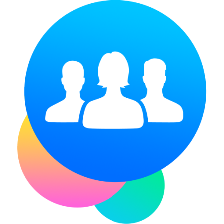 Facebook Groups icon logo