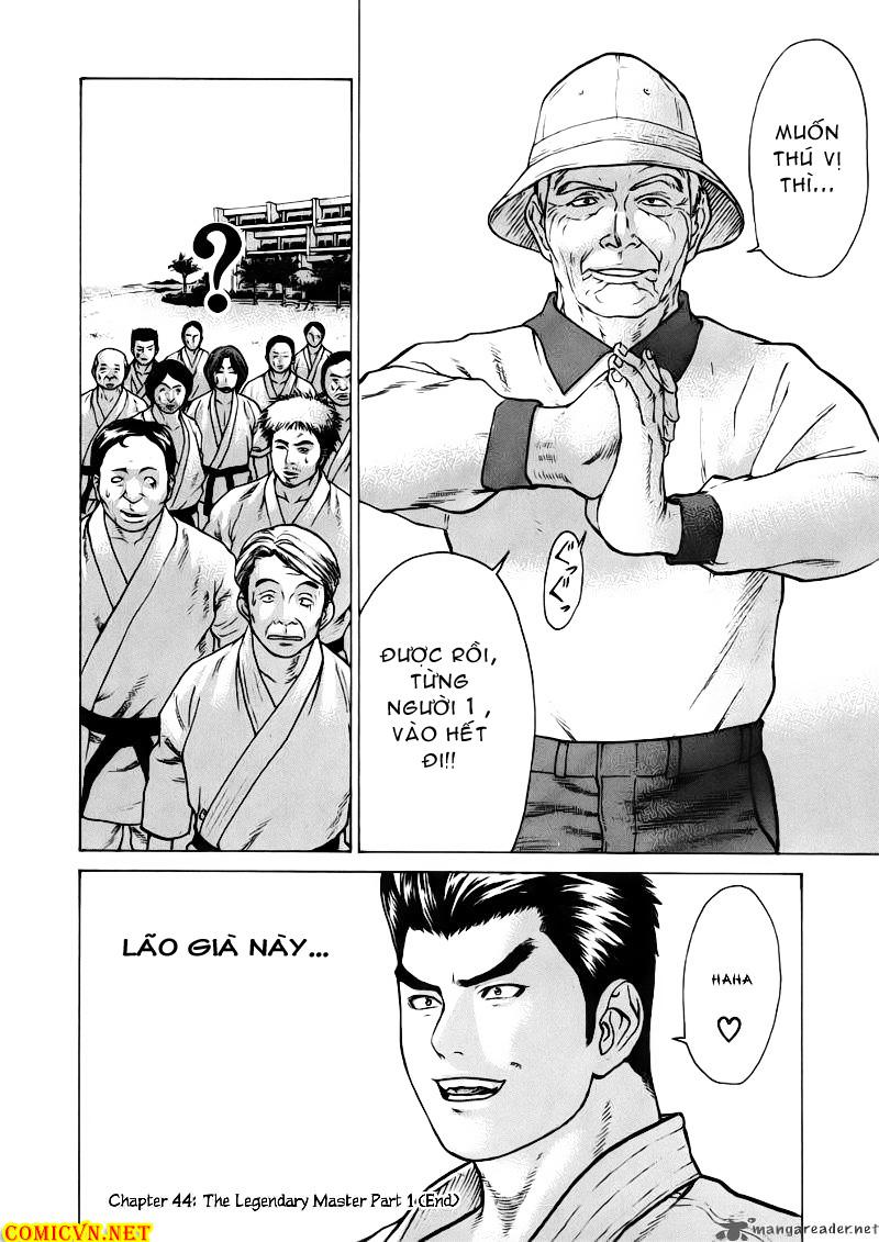 Karate Shoukoushi Kohinata Minoru chap 44 Trang 20