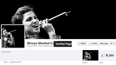 Facebook Verified Pages on Graph Searches