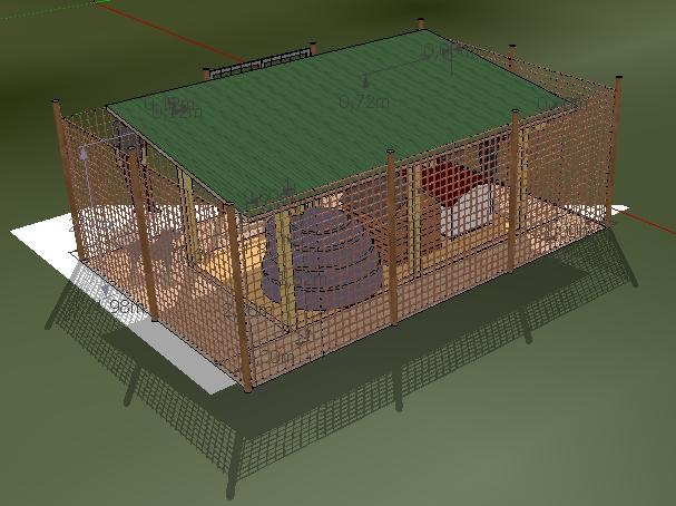 Cerco una casa e progetto rifugio valle di gemmano for Recinti per cuccioli di cane in casa